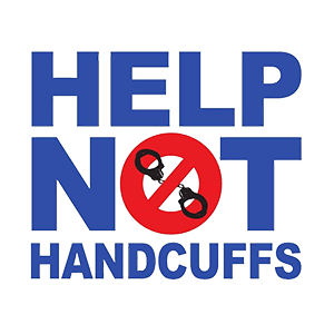 HELP NOT HANDCUF